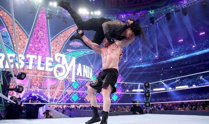 Lesnar vs Reigns