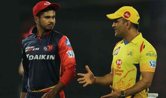 MS Dhoni and Shreyas Iyer, IPL 2019
