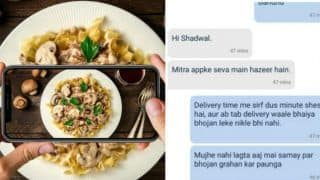 Mumbai Man's Hilarious Chat With Zomato Executive in Shudhh Hindi is Going Viral And is The Best Thing to Cheer Yourself Up