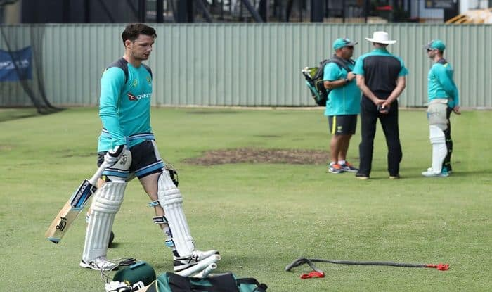 File image of Peter Handscomb during a nets session_Getty