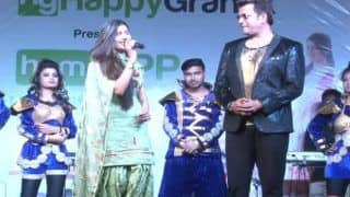 Haryanvi Hotness Sapna Choudhary Burns The Stage With Her Sexy Thumkas; Bhojpuri Superstar Ravi Kishan Joins Her at Live Dance Performance- Watch Viral Video