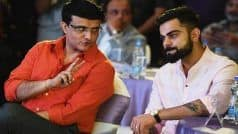 Ganguly Prepares Blueprint For T20 World Cup, Says Will Discuss With Kohli and Shastri