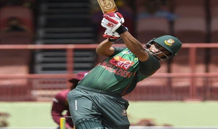 Tamim Iqbal in action during 1st ODI vs West Indies_ICC