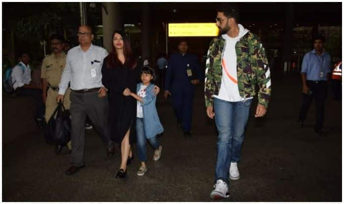 Abhishek Bachchan Slams A Report That Suggested Aishwarya Rai Didn't Let Him Hold Aaradhya's Hand