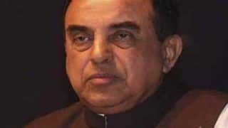 Sorry, But we Are Not Following Right Economic Policies: Subramanian Swamy