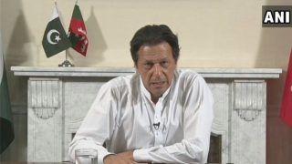 हेडक्वार्टर पहुंचे इमरान खान, पाकिस्तान की फर्स्ट डिफेंस लाइन बताया