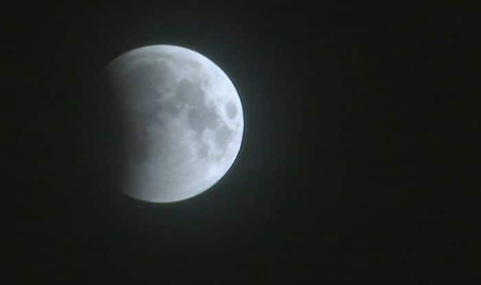 Visuals of the lunar eclipse 2018 from Amritsar, Punjab