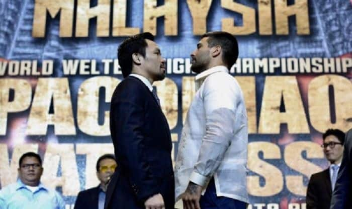 Manny Pacquiao, Lucas Matthysse Predict Action-Packed Welterweight Title Fight