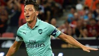 Arsenal's Injury Woes Continues, Mesut Ozil Set to Remain Sidelined For Huddersfield Town Fixture
