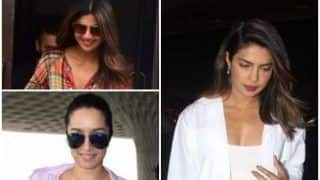 Priyanka Chopra, Shilpa Shetty, Shraddha Kapoor and More Are Spotted at The Airport Looking Marvelous