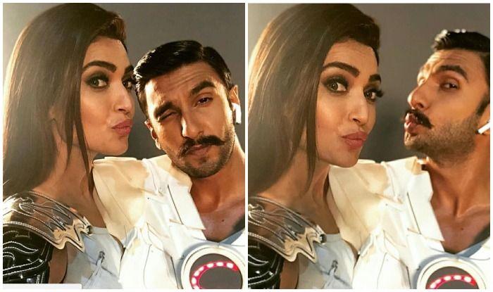 Karishma Tanna And Ranveer Singh Team Up For Commercial, Take Selfies In Between Shoot –  See Pics