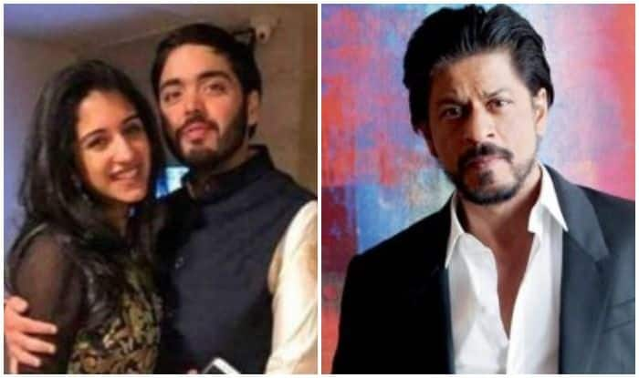 Shah Rukh Khan Teases Anant Ambani with GF at Ashok Ambani and