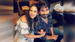 Shahid Kapoor Shares an Adorable Picture With Mira Rajput From Her Baby Shower