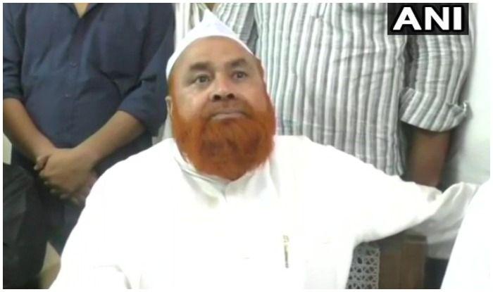 Samajwadi Party leader Riyaz Ahmed