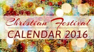 Christian Holidays and Festivals 2016 give you yet another reason to celebrate!