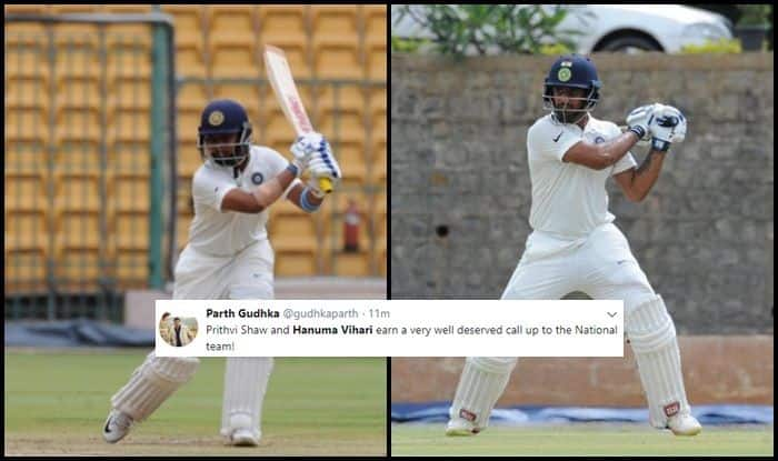 India vs England Tests: Prithvi Shaw, Hanuma Vihari Included, as India Announce 18-Member Squad For 4th, 5th Test, Twitter Erupts