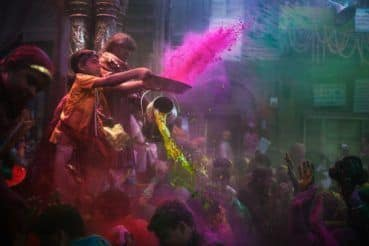Here Are 7 of The Most Unique Places You Can Celebrate Holi at in India