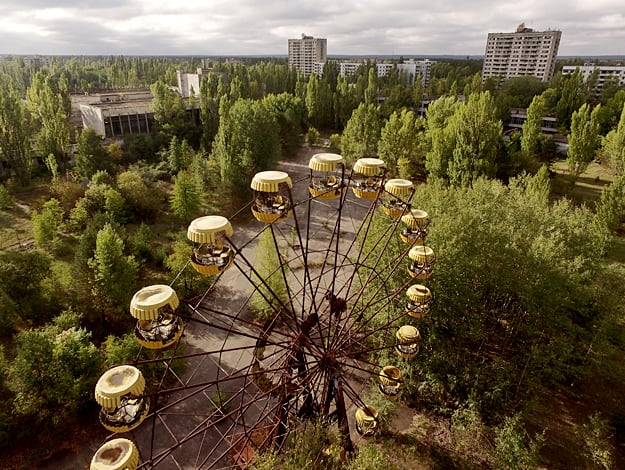 Chernobyl: 18 haunting photos of the Ukrainian nuclear disaster site
