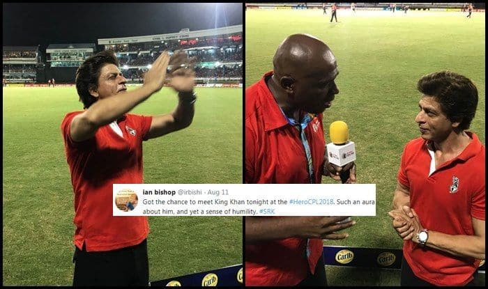 Caribbean Premier League T20 2018: Ian Bishop One of my All-Time Favourite Players: Trinbago Knight Riders Co-Owner Shah Rukh Khan
