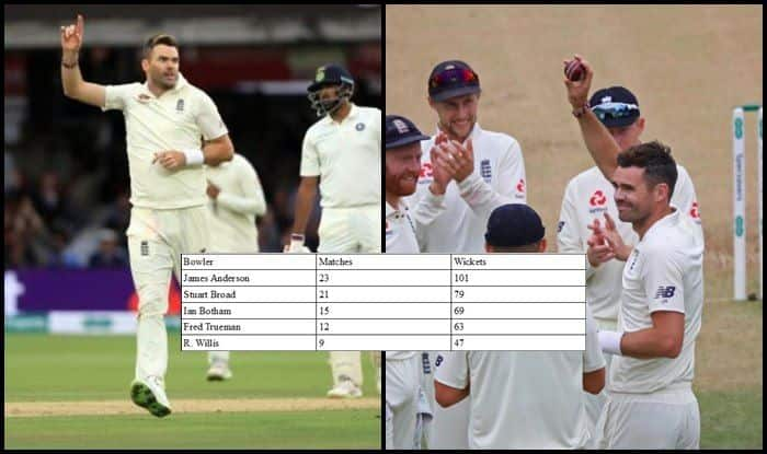 India vs England 2018, 2nd Test Day 4, Lords: English Pacer James Anderson Picks up His 100th Test Wicket of KL Rahul, Joins Muttiah Muralitharan With Record — WATCH