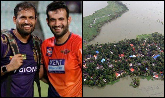 Kerala Floods After Virat Kohli Sanju Samson Yusuf Pathan