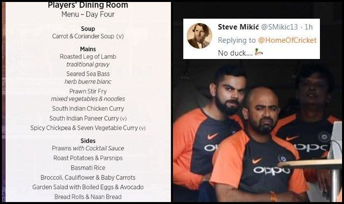 India vs England 2nd Test day 4: After Beef Post From BCCI, Lord's Lunch Menu Again Gets Trolled Hilariously