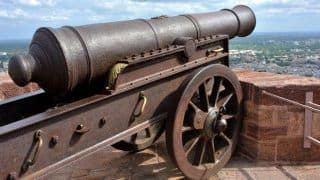 Take a look at these cannons that played a role in India's grim history