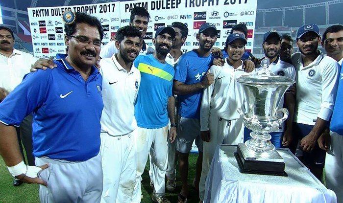 Duleep Trophy-pic courtesy BCCI