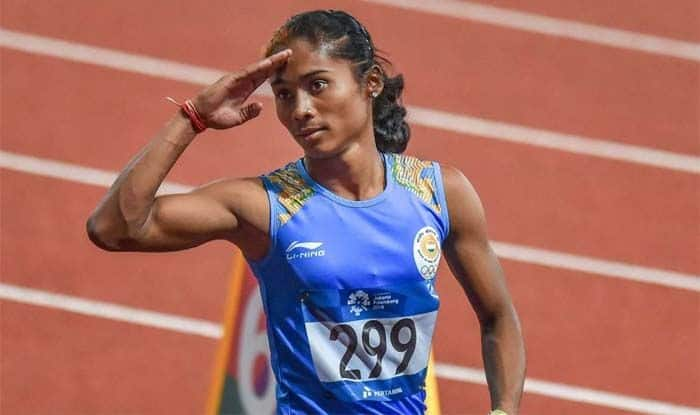 Hima Das, Muhammed Anas, Kutno Athletics International Meet, Athletics Meet, Sports News, Hima Das Wins Gold, Mohd. Anas Bags Gold, Poland Athletics Meet, Athletics Event
