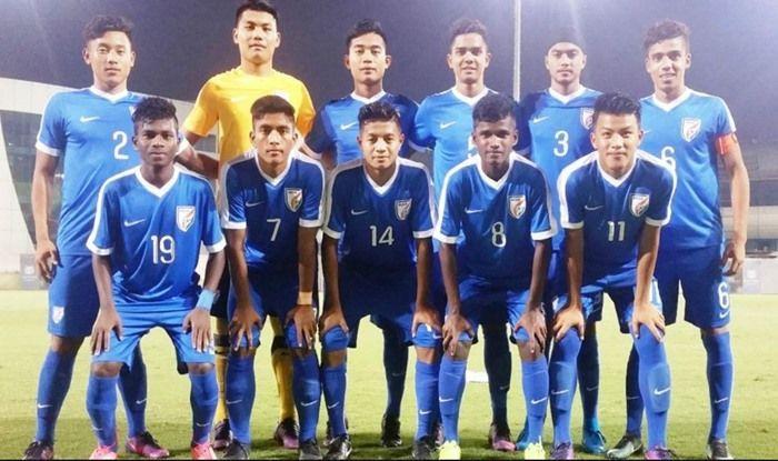 File image of India U-16 football team