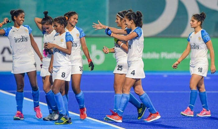 India women's hockey team in action during final of Asian Games 2018_Twitter