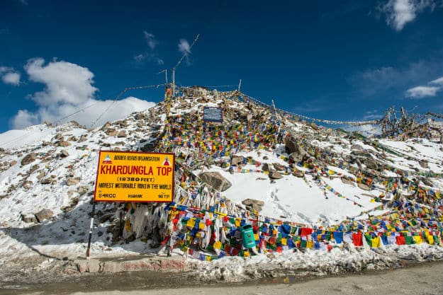 Khardung La pass weather in July | News Travel News, India com