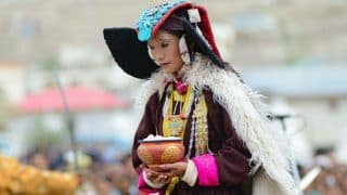 Bewitching traditional attire of the Ladakhis