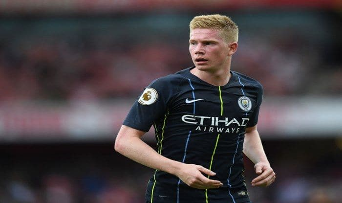 Manchester City's Kevin De Bruyne- GettyImages