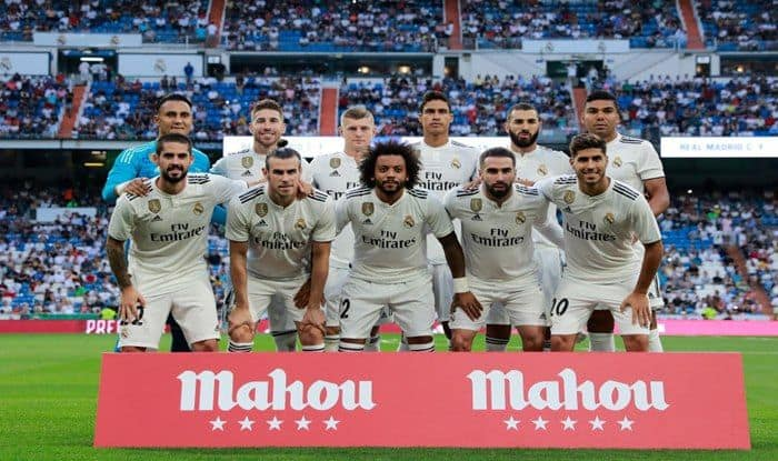 File Image of Real Madrid team_Getty