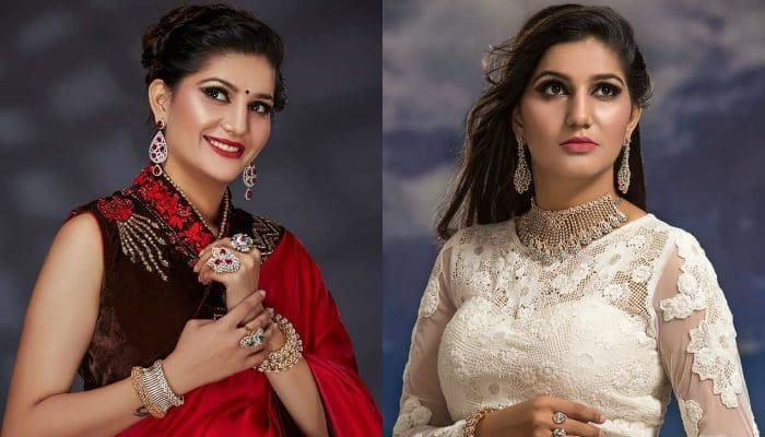 Sapna Choudhary's Latest Stunning Photos From a Jewellery ad Are Out