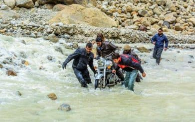 This Video of Water Crossings in Spiti Will Give You The Chills!