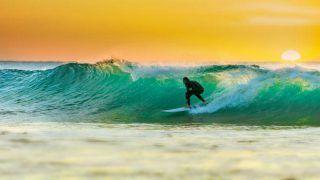 Watch Video – Chippa Wilson's surf is his turf!