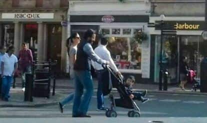 This Picture of Taimur Ali Khan Taking a Stroll in London is Breaking the Internet