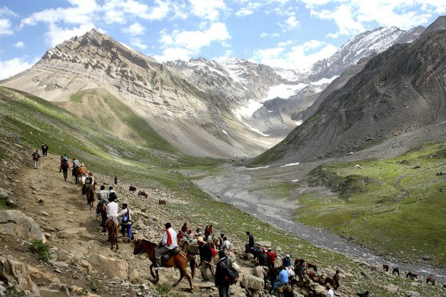 Amarnath Yatra, Which Was Suspended Due to Bad Weather, Resumes
