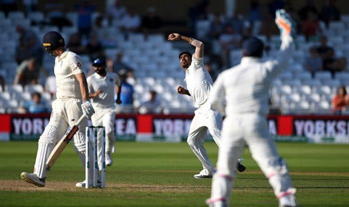 India vs England 3rd Test: India on Brink of victory Courtesy Jasprit Bumrah's Hostile Bowling