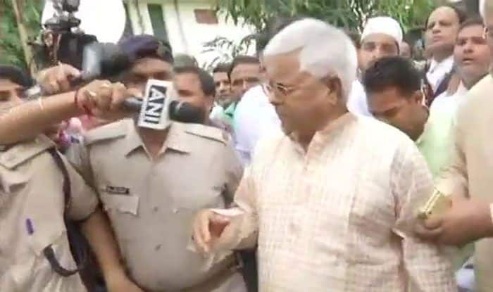 Lalu Yadav Surrenders After HC Rejects Plea to Extend Parole, Says Has Full Faith in Judiciary