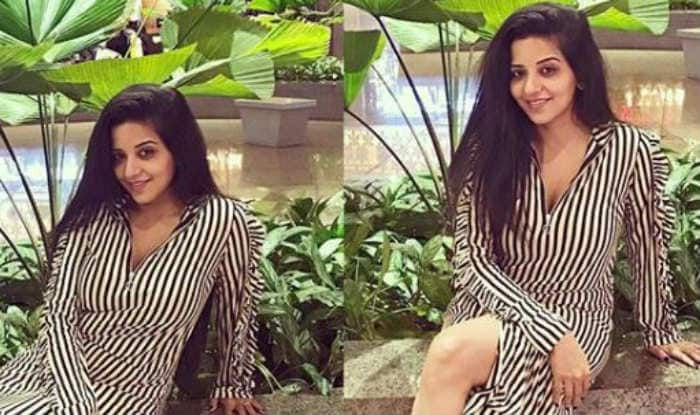 Bhojpuri Hotshot Monalisa Raises The Temperature in Sexy Black And White Dress, Check Picture