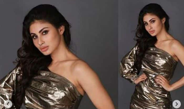 Mouni Roy Steals The Heart With a Set of Blazing Hot Pictures in Golden, Check Here