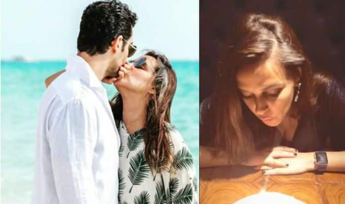 Angad Bedi's Heart Warming Romantic Birthday Wish For Neha Dhupia is Unmissable, Check Pic