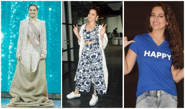 Sonakshi Sinha Ups The Style Quotient While Promoting Happy Bhaag Jayegi Returns, See Pics