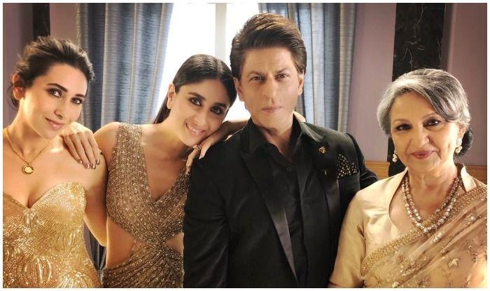 Shah Rukh Khan Poses With The 'Elegant Ladies' of Bollywood – Sharmila Tagore, Kareena Kapoor Khan, Karisma Kapoor During a Commercial Shoot in Latest Pic