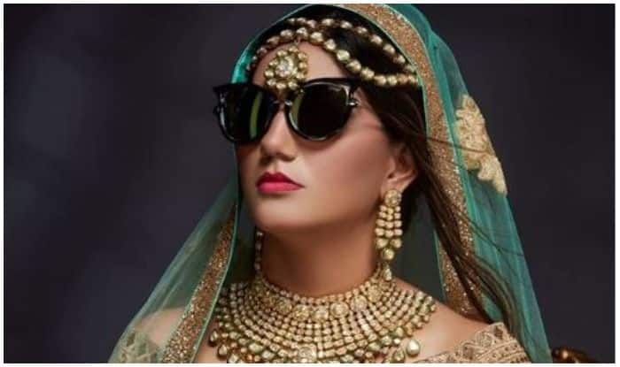 Haryanvi Sizzler And Billori Akh Fame Sapna Choudhary is a Bride With Swag in This Latest Picture, Check