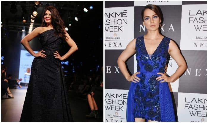 Lakme Fashion Week 2018: Jacqueline Fernandez And Kangana Ranaut Burn The Ramp as They Turn Showstoppers in One Night, See Pics