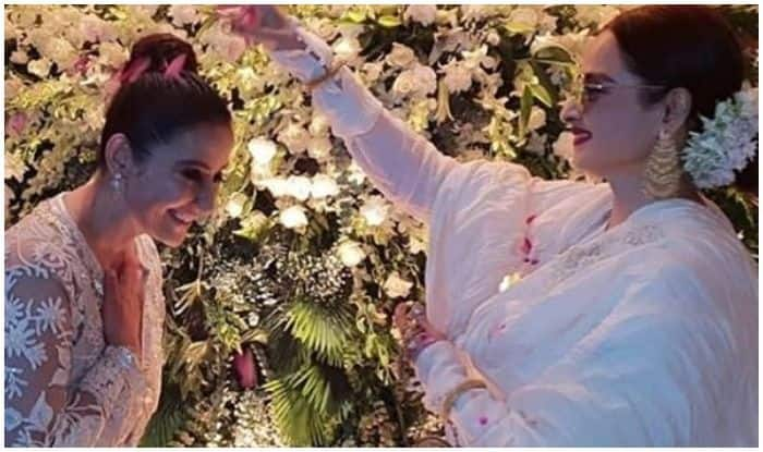 Manisha Koirala Celebrates Birthday, Rekha Showers Love on Her, See Picture